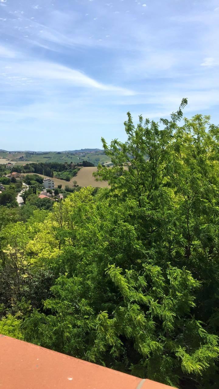 Il panorama di San Liborio senza l'antenna