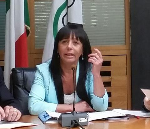 Il consigliere regionale di Forza Italia Jessica Marcozzi