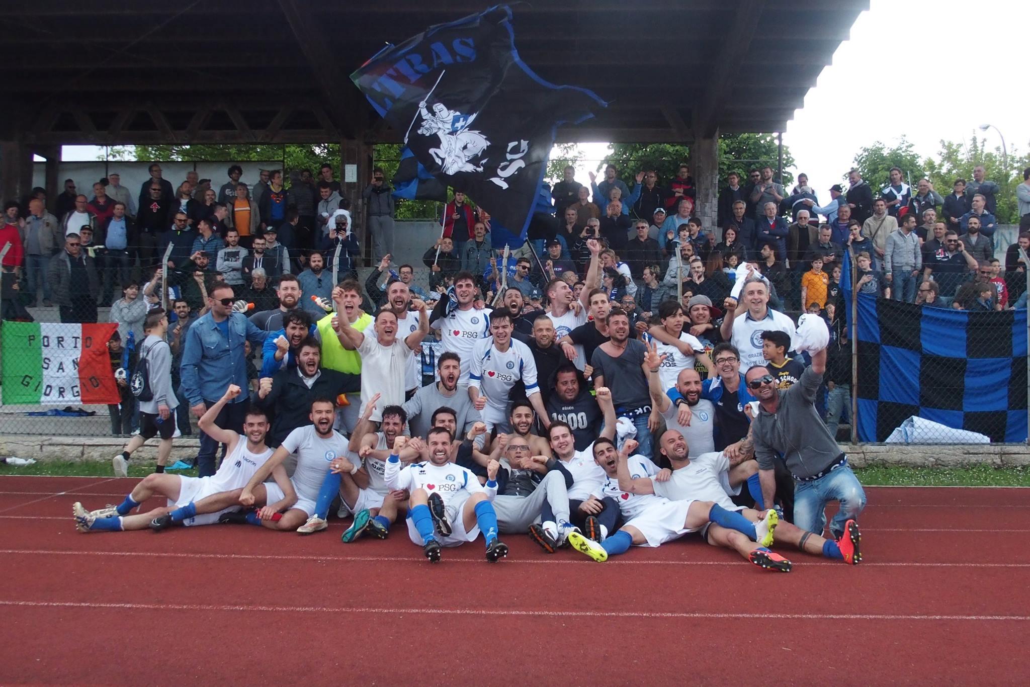 Nuova Sangiorgese vittoria Promozione con Gabaldi