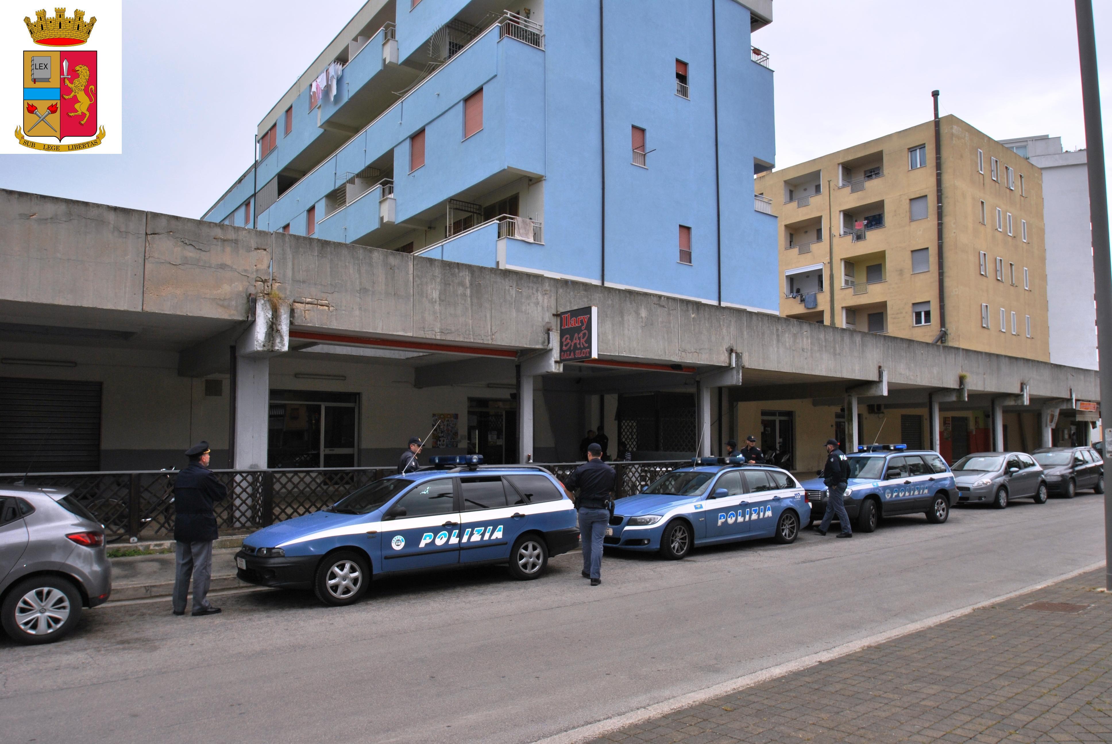 Polizia controlli Lido Tre Archi