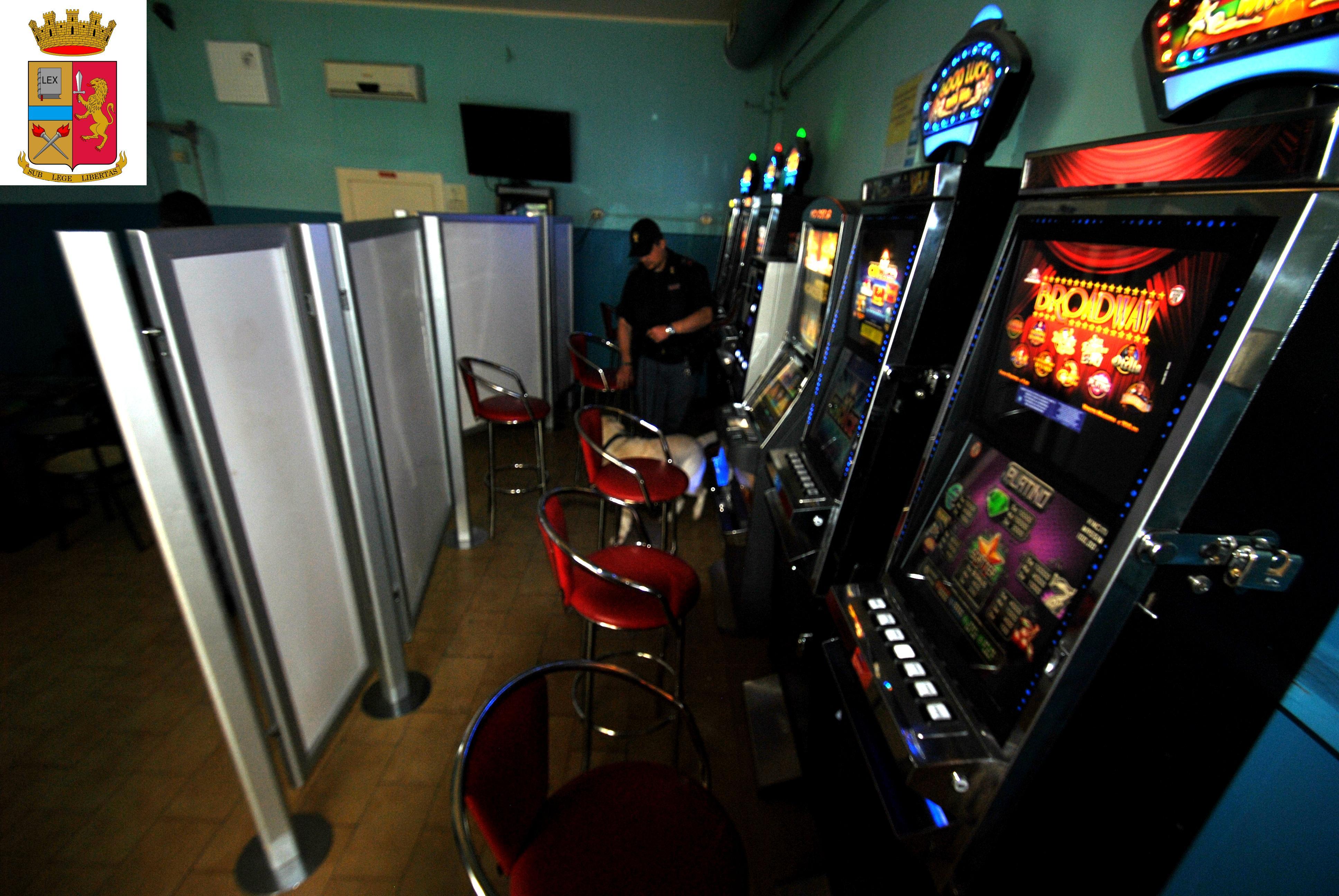 Polizia slot machine