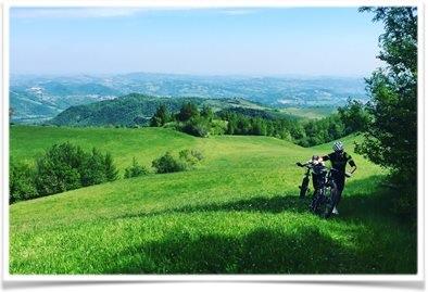 Il nuovo percorso per mountain bike di Amandola