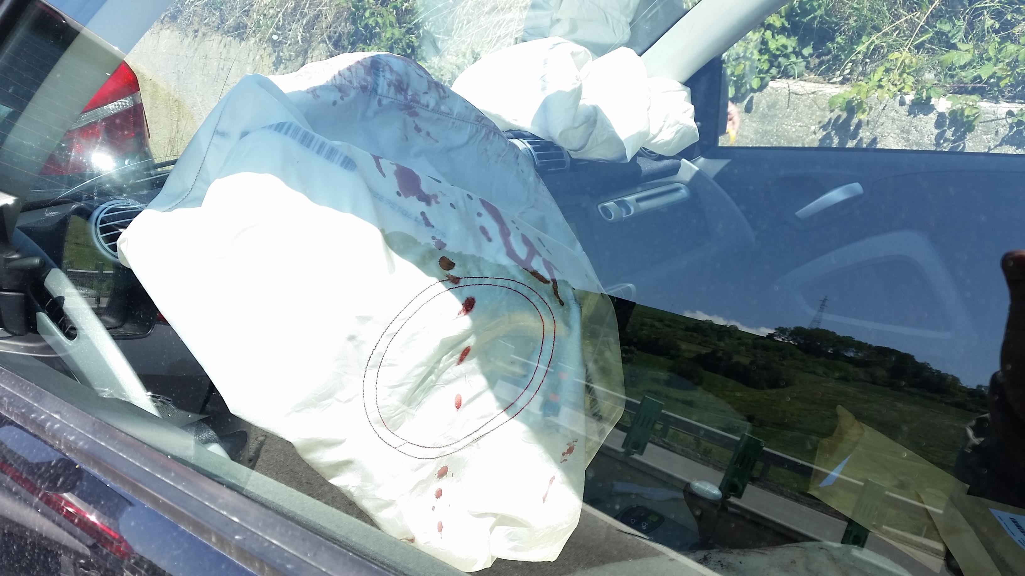 airbag sangue