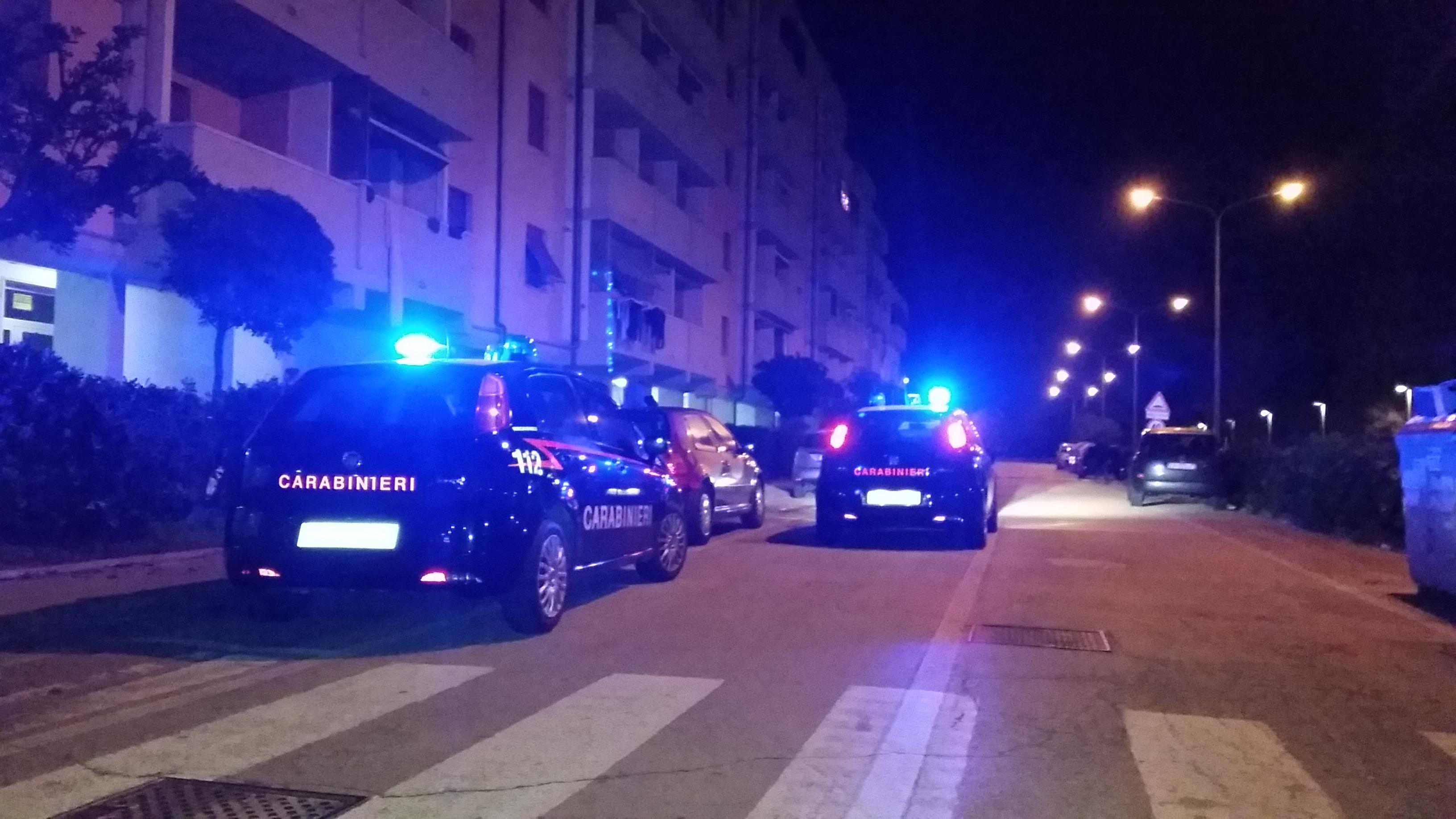 carabinieri notte 2 Lido Tre Archi