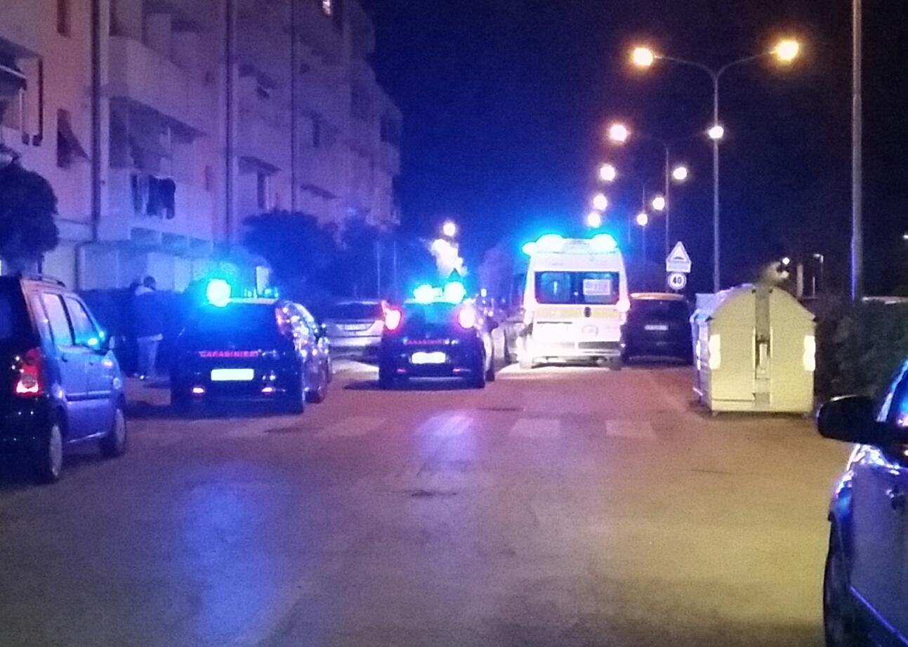 carabinieri notte ambulanza