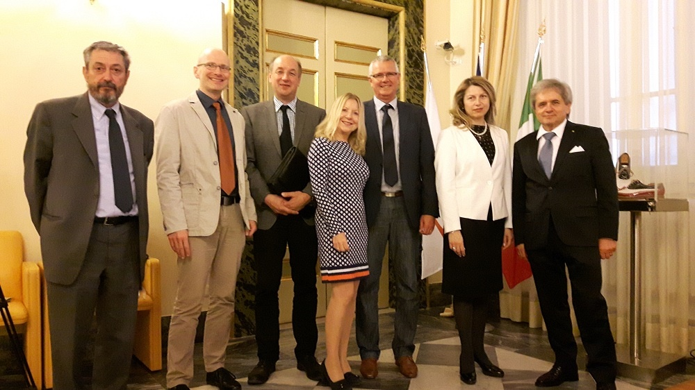 delegazione tedesca 2 Camera di Commercio