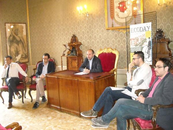 La conferenza stampa di presentazione dell'Ecoday a Fermo