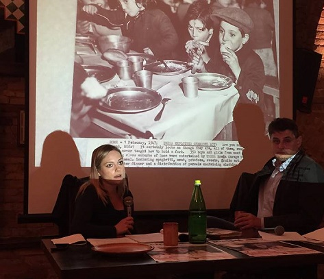 Un momento della presentazione del libro di Michela Ponziani