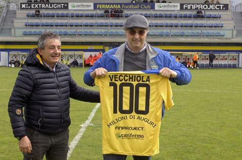 Maurizio Vecchiola che è stato negli ultimi tre anni il socio di maggioranza della Fermana