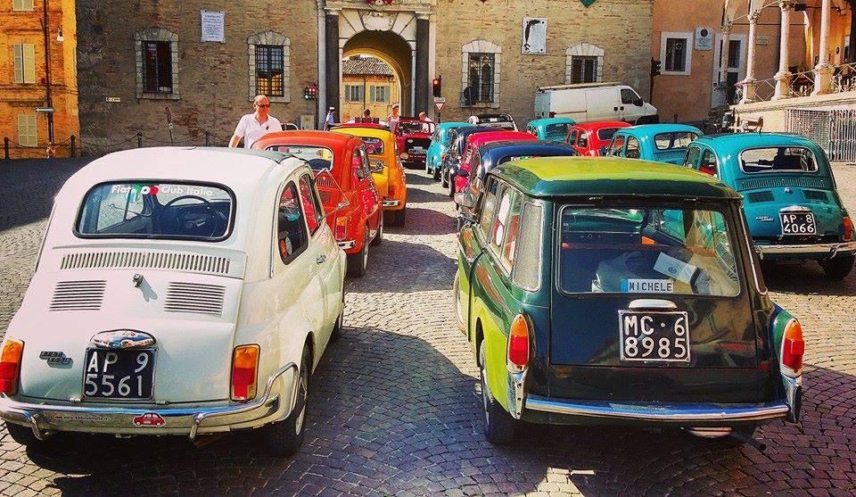 Raduno 500 Piazza Fermo