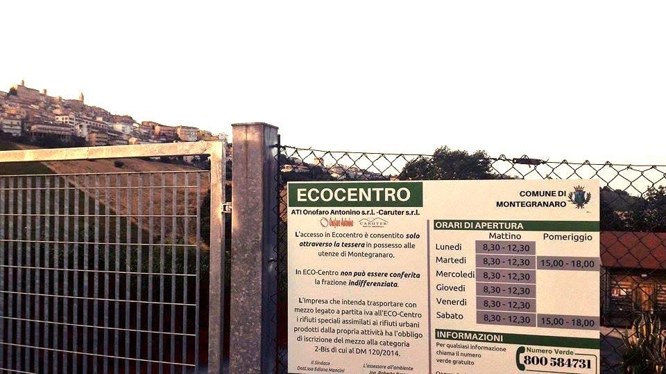 Montegranaro ecocentro