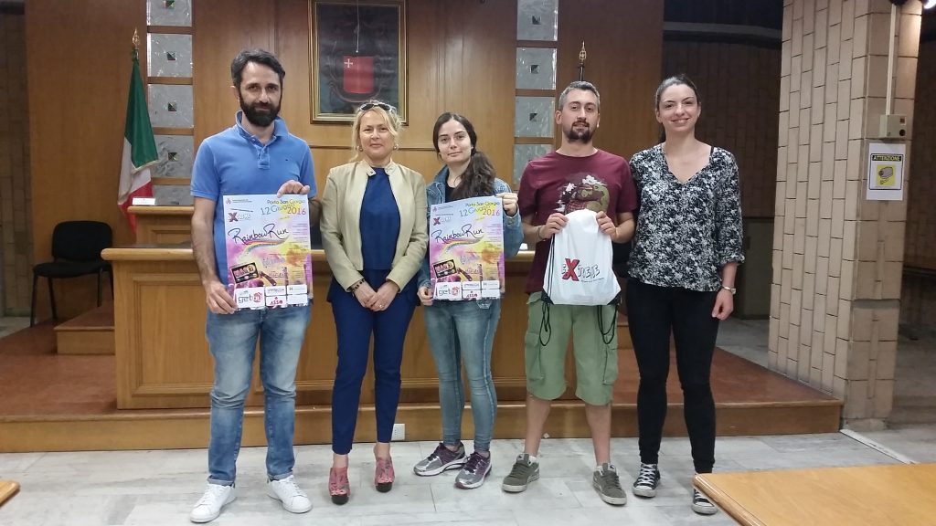 La conferenza stampa del Rainbow Run 2016