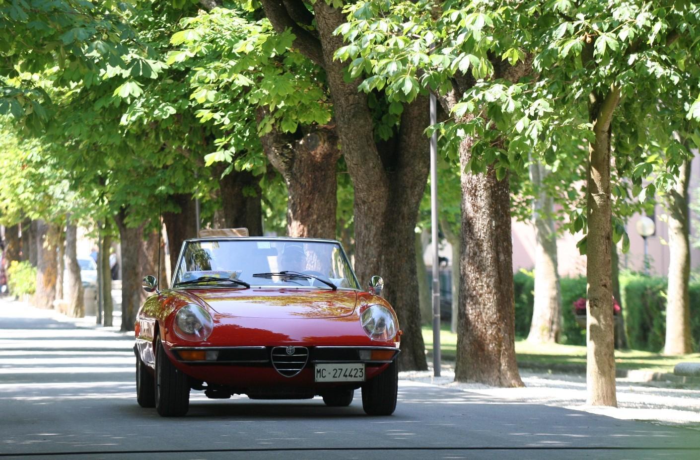 Alfa Romeo - La Duetto classica.
