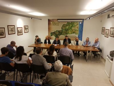 La conferenza stampa di presentazione del bilancio Steat
