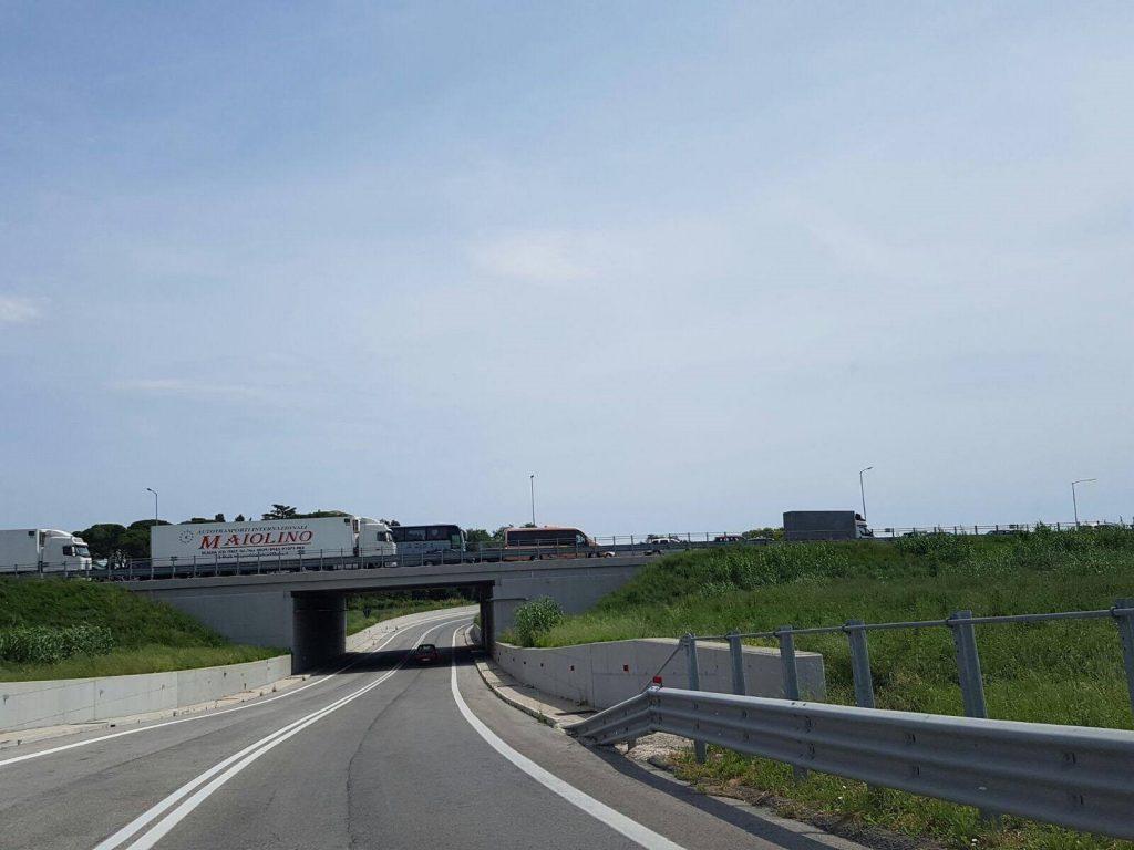 La coda di questa mattina sul tratto autostradale elpidiense