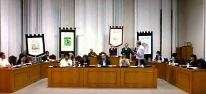 Una seduta del Consiglio Comunale di Montegranaro