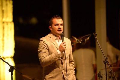Il sindaco di Monte Rinaldo Gianmario Borroni