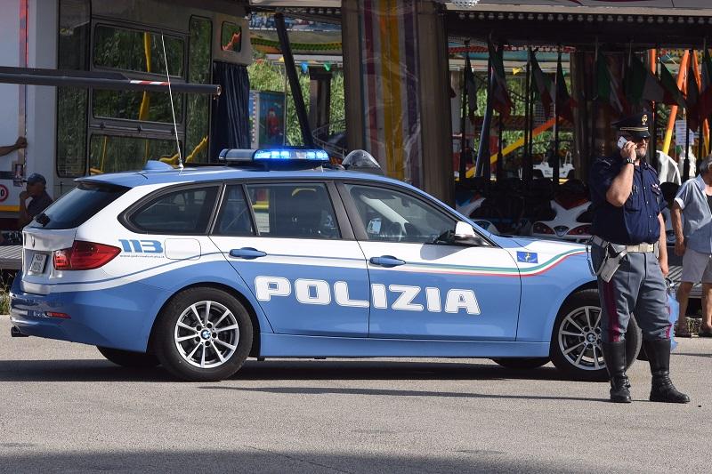 polizia giostre