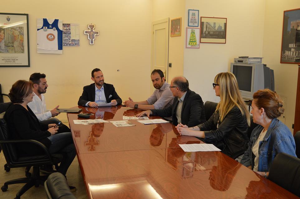 La conferenza stampa di oggi a Sant'Elpidio a Mare