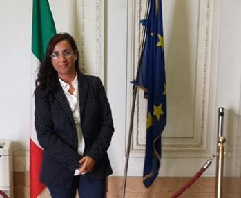 Il sindaco Romina Gualtieri a Roma