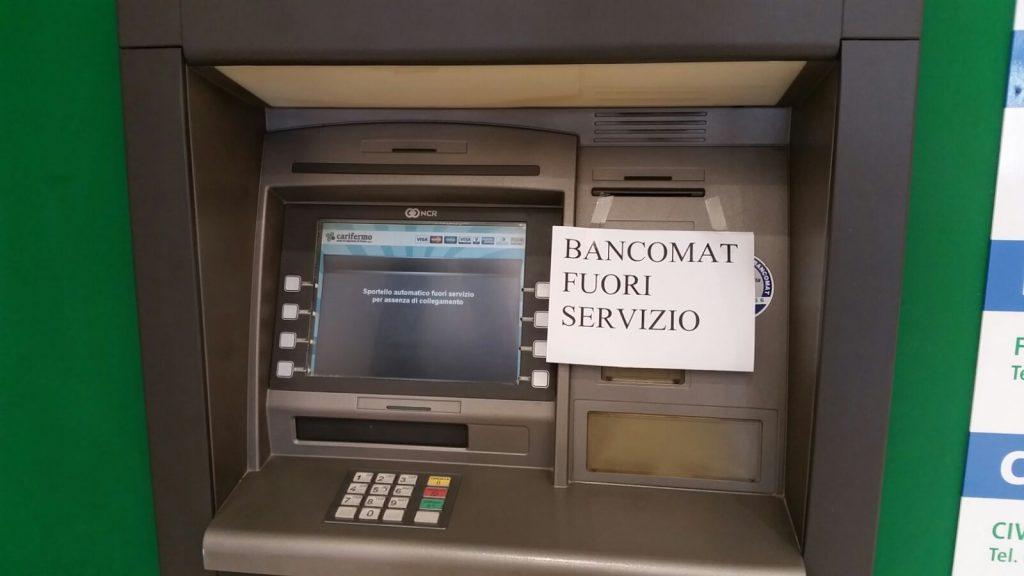 bancomat assalto Porto San Giorgio
