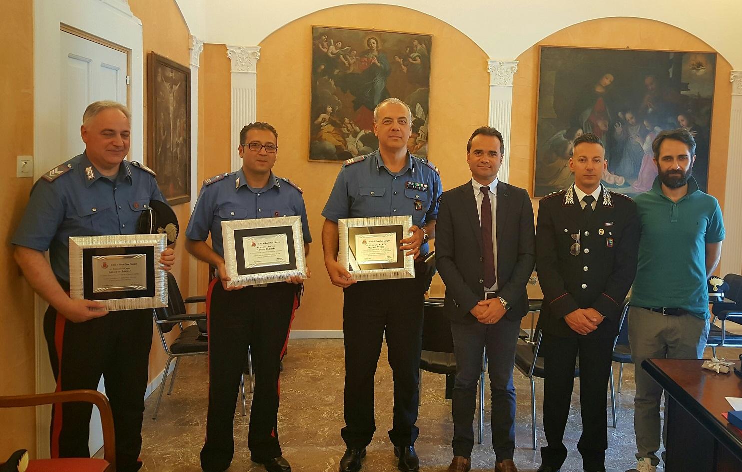 carabinieri riconoscimento