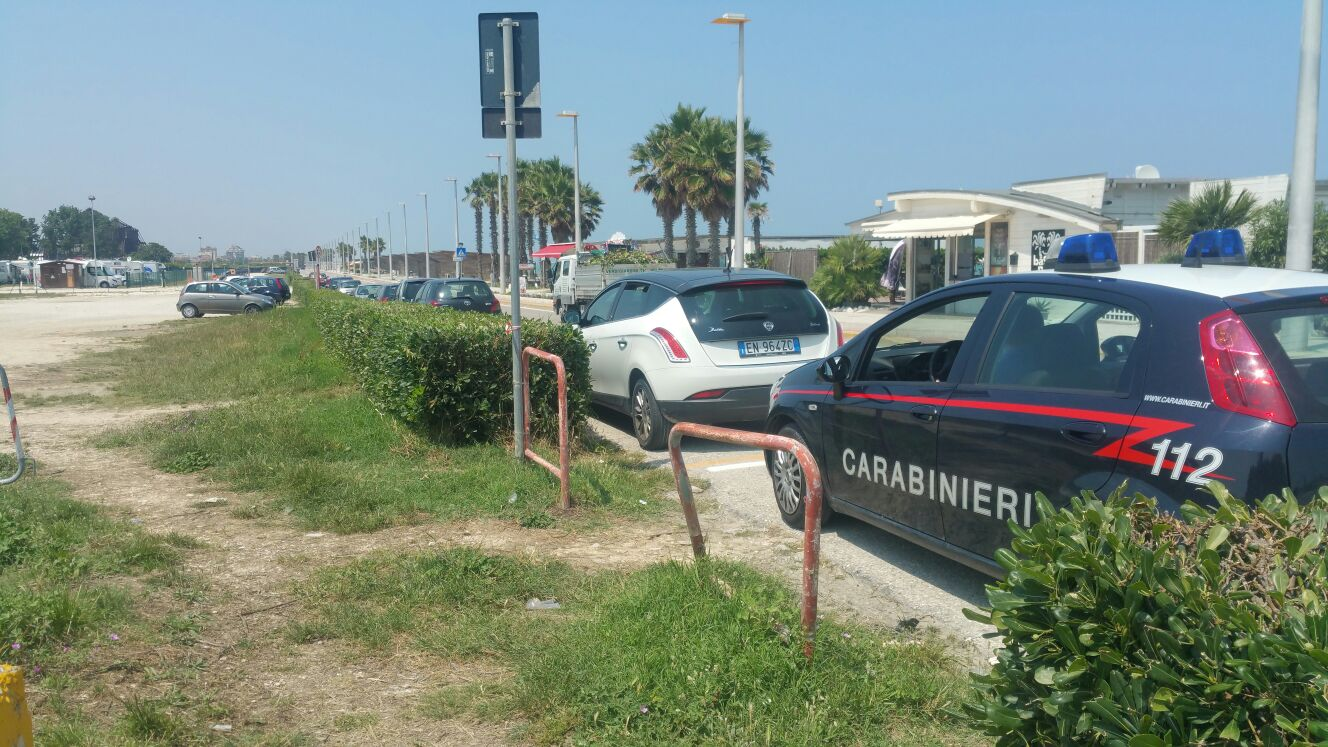 carbinieri lungomare Porto Sant'Elpidio