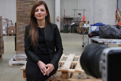 Daniela Catini, customer service Ots