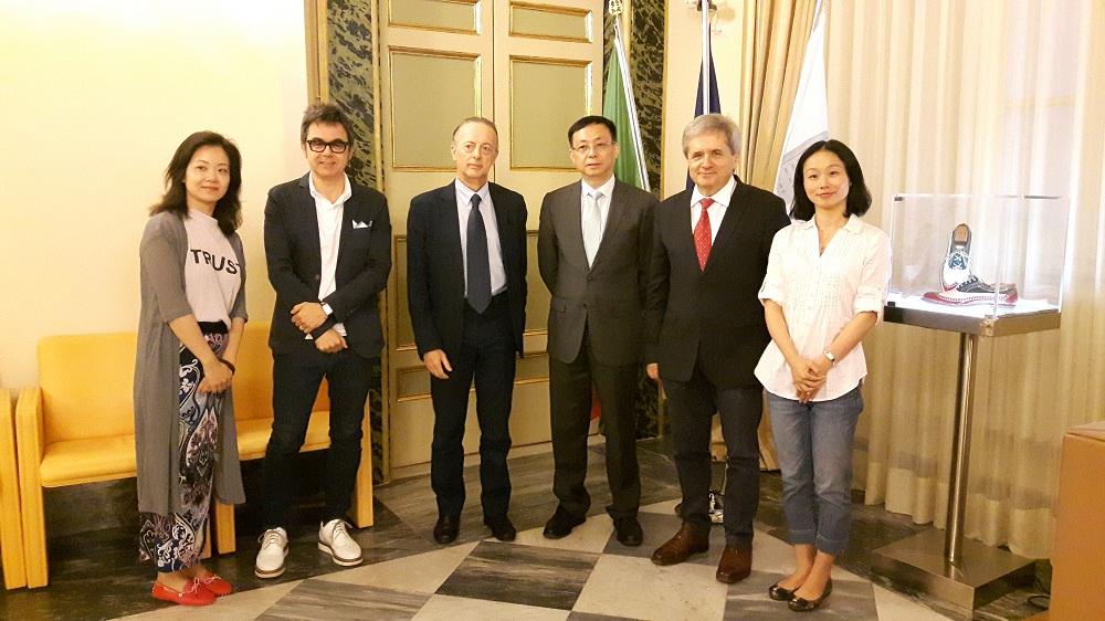 delegazione cinese camera di commercio