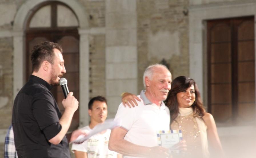 """Gianni Piccinini, capitano delle """"Vecchie Glorie"""" in campo al Recchioni"""