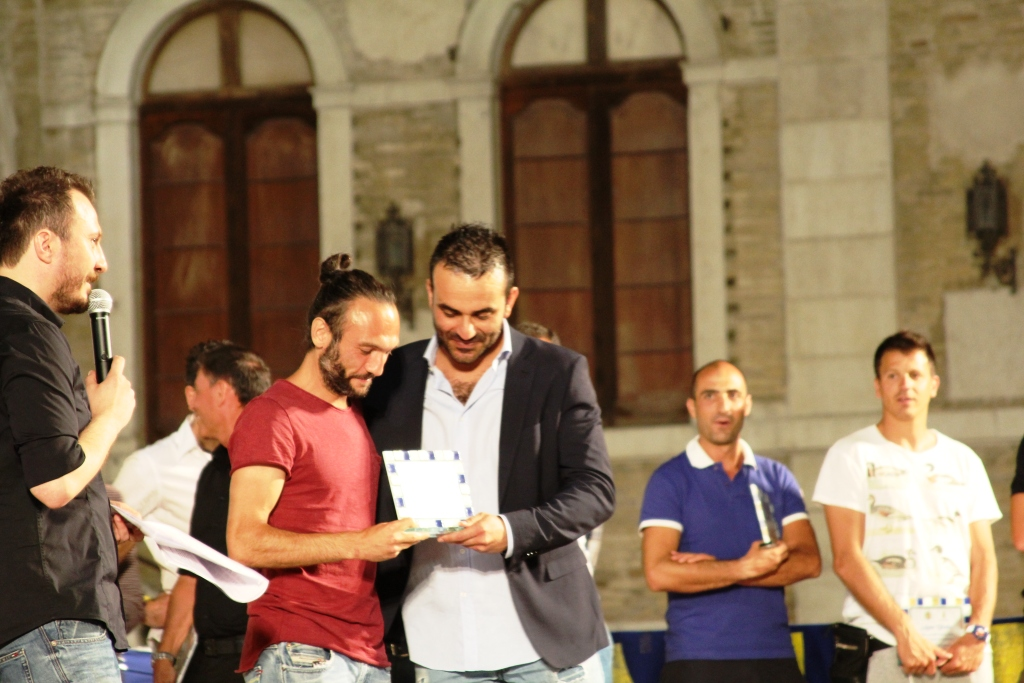 Massimo De Reggi con Gianluca Leoni di Solo Fermana