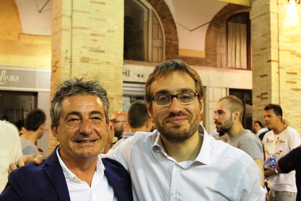 Raoul Enzo Parlatoni e l'Assessore Alberto Maria Scarfini