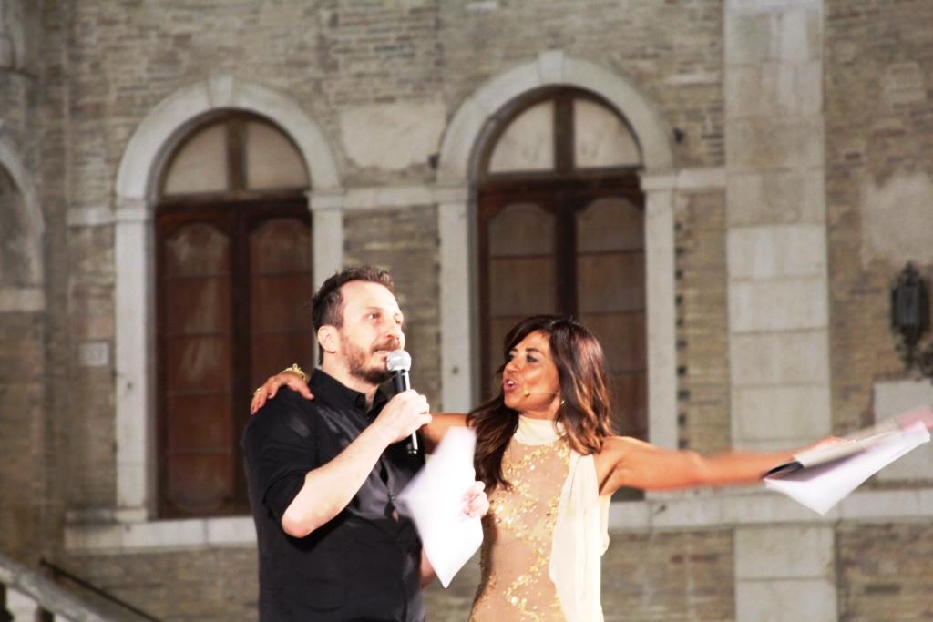 Giorgio Montanini e Gaia Capponi presentatori della serata