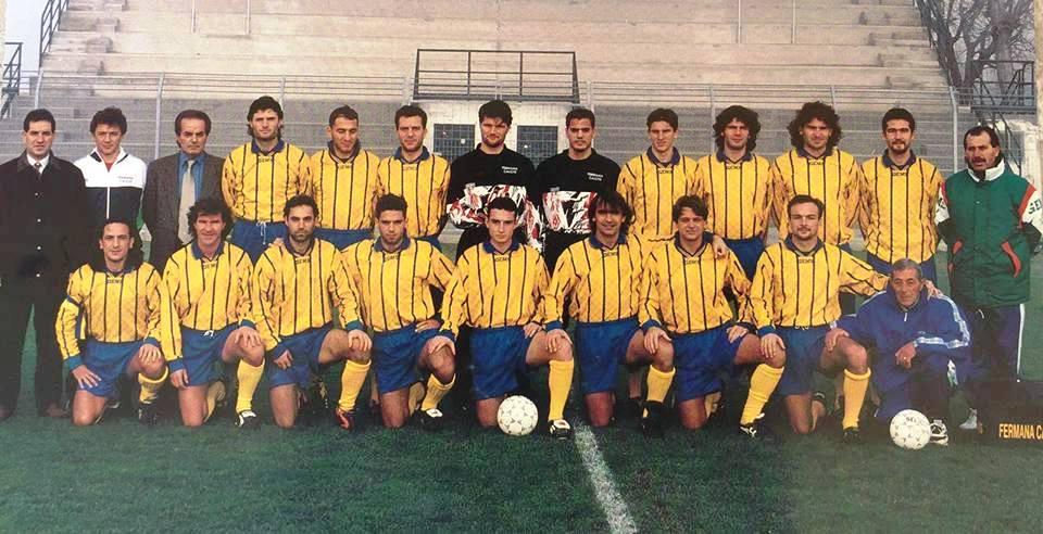 La formazione della Fermana 95-96