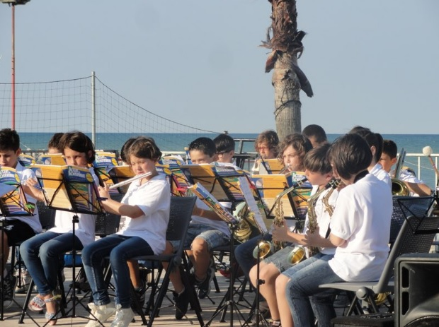 La Junior Band in concerto