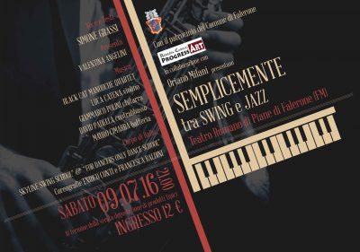 Manifesto Jazz Orizzontale
