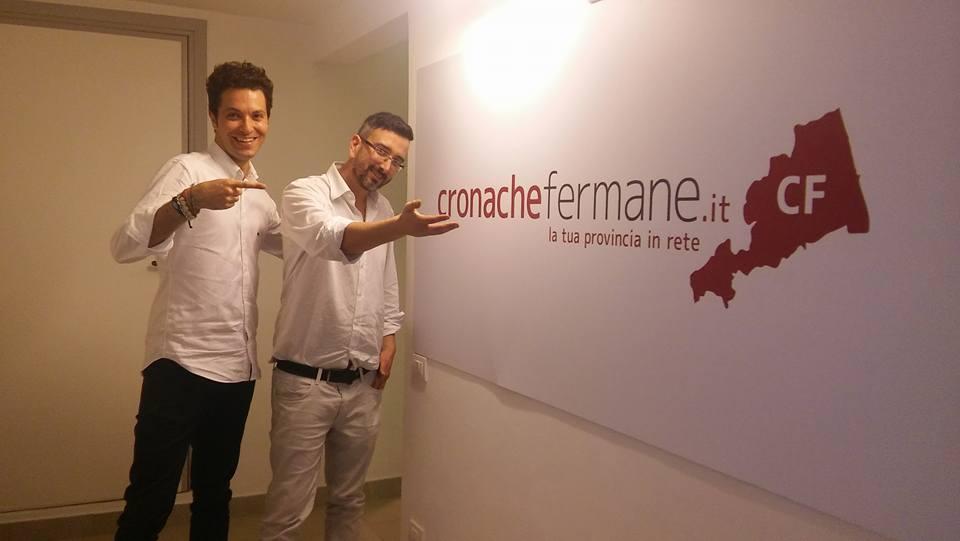Paolo Paoletti e Matteo Zallocco, direttori di Cronache Fermane e Cronache Maceratesi