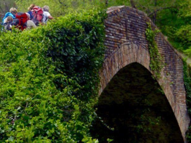 il ponte romanico di Amandola