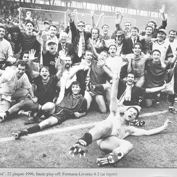 Le immagini della vittoria nel 1996