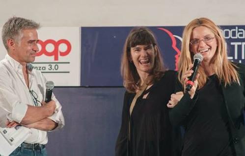 da sx Andrea Pellizzari, Zoe Rondini e Lucia Pappalardo