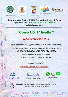 2016 progetto LIS