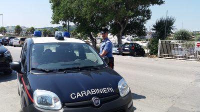carabinieri lungomare porto san giorgio fermo