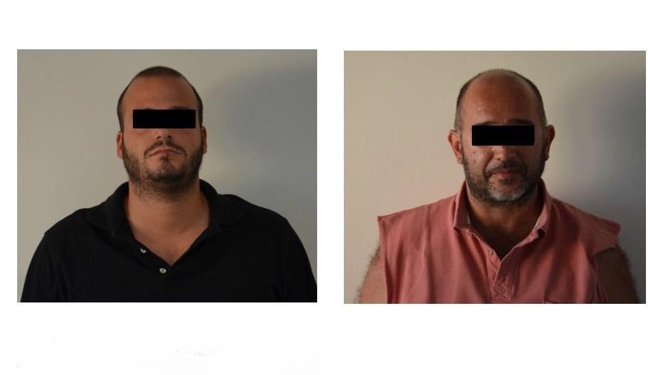 A sx Marco Bordoni a dx Martino Paniconi