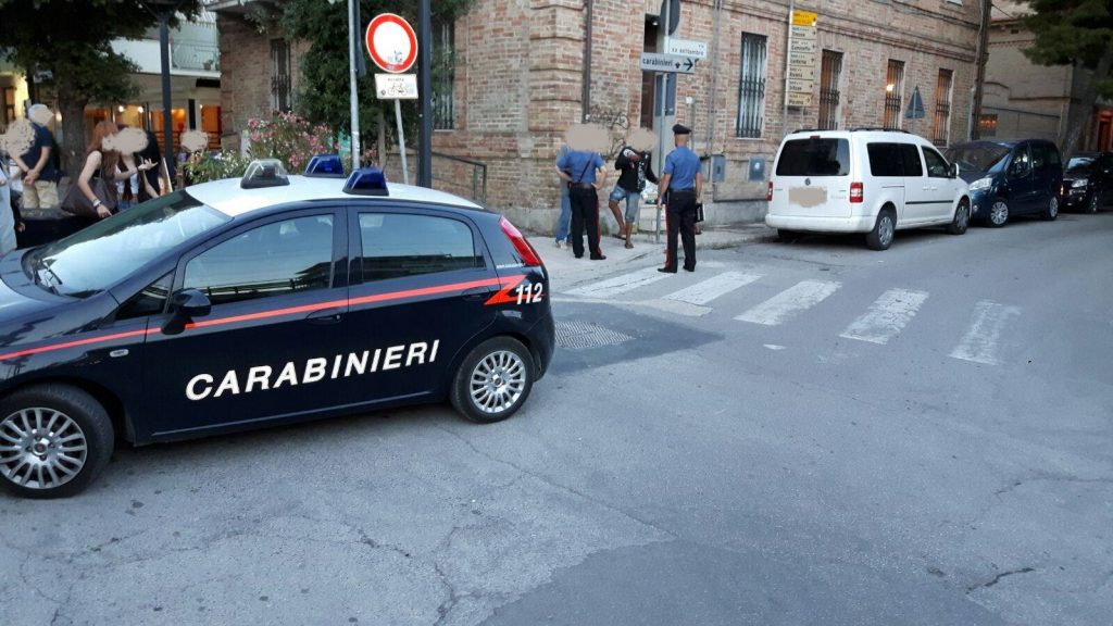 Carabinieri borseggio Porto San Giorgio