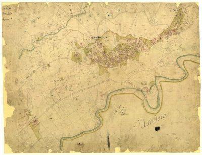 Cat.Greg.mappa Amandola circa 1817-1822