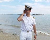 Il comandante del Circomare Fabrizio Strusi