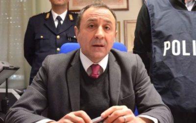 Il dirigente del commissariato Leo Sciamanna