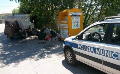 Montegranaro rifiuti