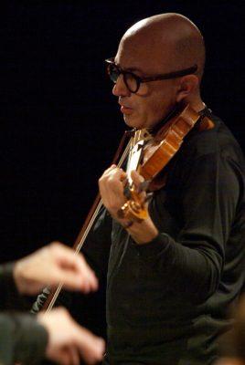 Il violinista Luca Marziali