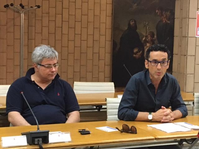 Porto San Giorgio Onde Sonore Renato Bisonni e Igor Giostra